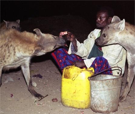 hyena-men