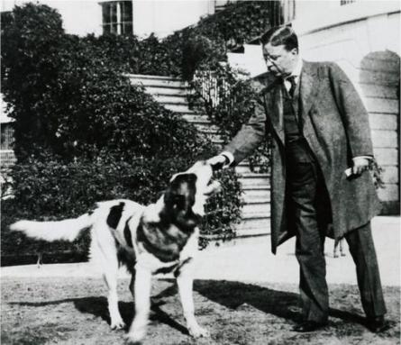 roosevelt-and-dog